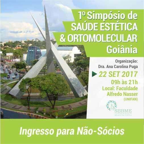 Ingresso (Não-Sócios) – Simpósio em Saúde Estética e Ortomolecular (Goiânia-GO)